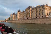 Seine - Bootsfahrt - Ile de la Cite - Conciergerie