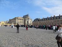 Warten in Versailles