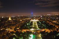 Marsfeld und Turm Montparnasse