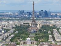 Eifelturm vom Montparnasse