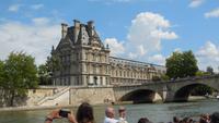 Bootsfahrt auf der Seine - Louvre