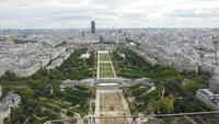 Eiffelturmblicke über Paris