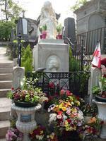 Chopins Grab auf dem Pere La Chaise