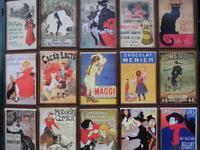 Schilder aus der Belle Epoque