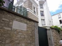 `Paris, Montmartre, Wohnhaus von Dalida