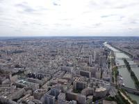Blick aus 300 m Höhe auf Paris