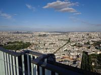 Blick vom Hochhaus von Montparnasse auf Paris