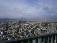 Blick vom Montparnasse-Hochhaus