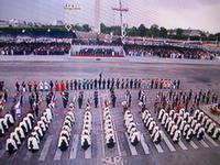 Parade am Nationalfeiertag