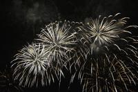 Feuerwerk in Juan-les-Pins