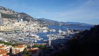 Ausblick auf Monaco