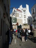 47-Montmartre, Haus von Dalida