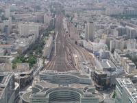 Gare Montparnasse- Ausgangspunkt für die Reise in den Süden