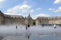 Place de la Bourse und Wasserspiegel (Archiv)