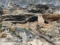 La Roque-Gageac. Felsenwohnung
