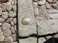 Le Puy. Marlierung des Jakobspilgerweges