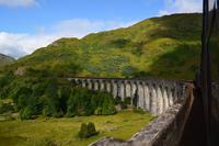0152 Jacobite Steam Train, Fahrt über den Glenfinnian Viaduct