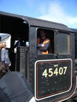 Jacobite Steam Train, Detail