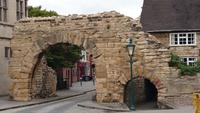 Alte Stadtmauer in Lincoln