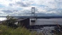 Einer der Severn Bridges bei Bristol