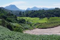 Blick von Gairloch auf die Berge am Loch Maree