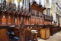 0583 Salisbury Cathedral, Chor