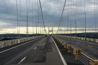 über die Severn-Brücke mit