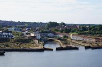 Docks in disuse