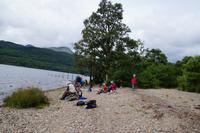 Mittagslager an Loch Lomond