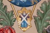 Der heilige Andreas in Georgs III. von Hannovers schottischen Königswappen