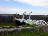 Eingang zum Fort George