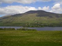 Landschaft am Loch Lomond