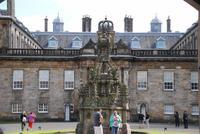 Blick  auf  Palace of Holyroodhouse