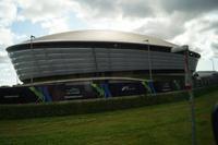 Schwangere Auster? Konzerthalle Glasgow