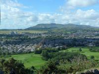 Blick auf Edinburgh - vom Arthur's Seat