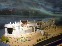 Urquart Castle am Loch Ness, Modell