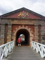 Fort George Eingang