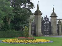 Garten von Holyrood Palace