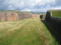 Verteidigungswall von Fort George