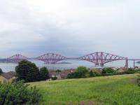 Eisenbahnbrücke am Firth of Forth