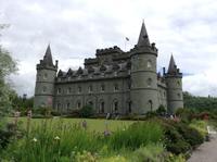 Inverary Castle mit Parkanlage