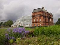 Gartenpavillon im Eastend Green Glasgow
