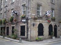 In der Cowgate Edinburghs