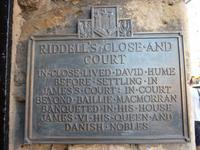 Royal Mile Edinburgh David Hume