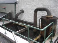 Edradour - kleinste Distíllery Schottlands - Teil der Destille