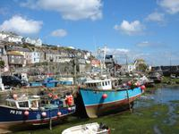 Ebbe in Mevagissey