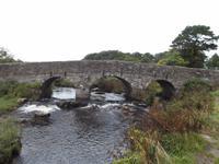 Straßenbrücke von Postbridge, Dartmoor