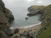 Cornwalls Klippen bei Tintagel