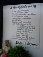 Schmuggler Song von Rudyard Kipling in Rye