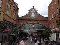 Eingang zum Bahnhof in Windsor